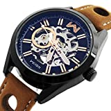 Wilon Swiss Automatic Watches For Men Rose Gold