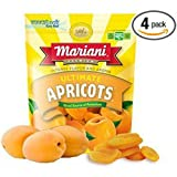 Mariani, Dried Ultimate Apricots, 6oz Pouch (Pack of 4)