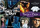 Scary Chilly Trills Bundle: Get Out & Ghost Rider/ The Mothman Prophecies/ The Bride/ Secret Window (Modern Horror/ Suspense 5 DVD Collection Bundle)