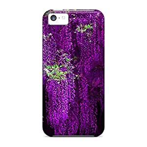 SashaankLobo VZs32978ytHm Cases Covers Skin For Iphone 5c (violet Wisteria)