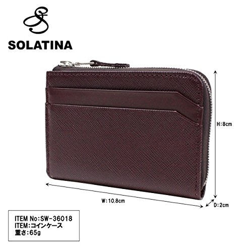 SOLATINA cow coin SOLATINA SW cow leather 36018 leather Wine purse HxwHnAO