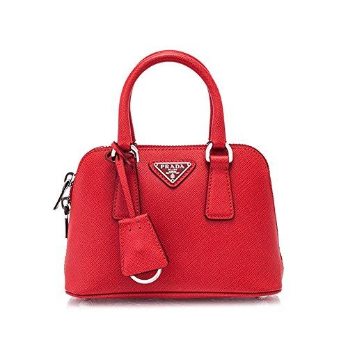 Authentic Prada Saffiano Lux Bag 18cm