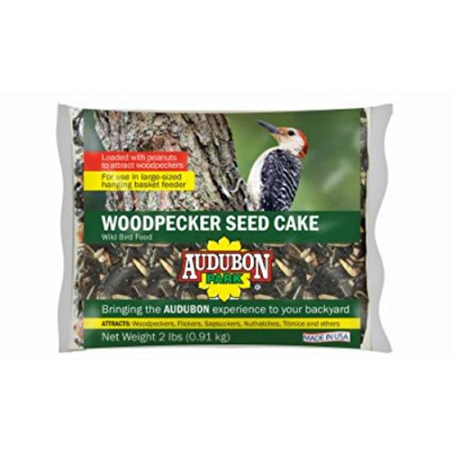 Audubon Park 11931 Woodpecker Seed Cake, 2-Pounds (Woodpecker Cake)