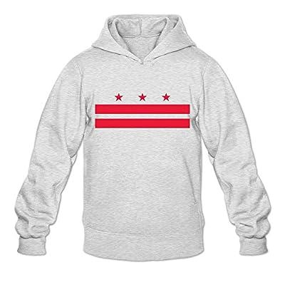 Flag Of Washington, D.C. Religion 100% Cotton Long Sleeve Sweatshirt For Adult