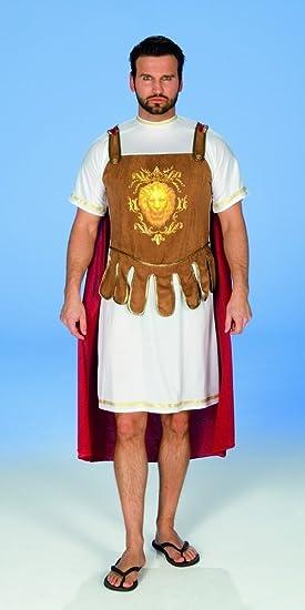 Disfraz de gladiador romano Marc Anton legionario capa del ...