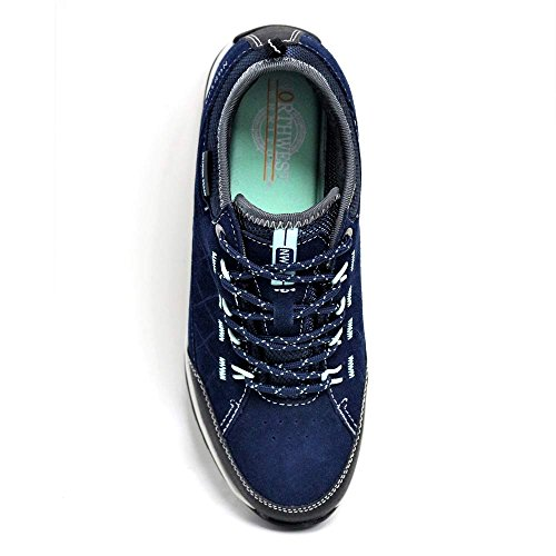 per numeri 35 5 donna nei al Stivaletti ideali in disponibili dal 42 Navy impermeabile da Blue scarpe pelle l'escursionismo Lt leggera pBx0B67