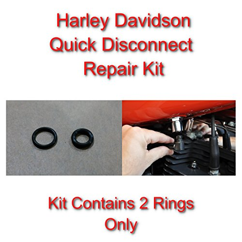 - SpeedFreakCNC Harley Davidson Compatible Viton Repair Kit for Fuel Line Quick Disconnect/Stop Leaks