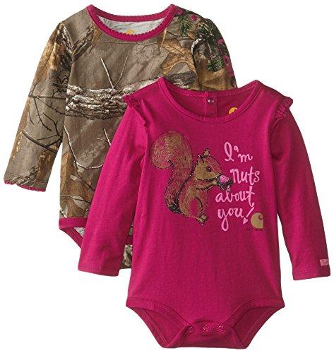 Carhartt-Baby-Girls-2-Pack-Bodysuit