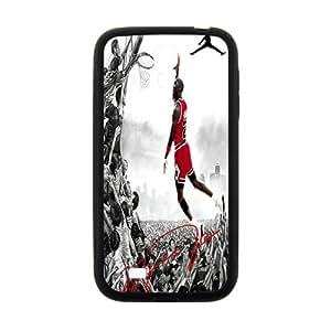 SANYISAN Air Jordan23 Phone Case for Samsung Galaxy S4 Case