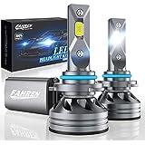 Fahren 9005/HB3/H10 LED Headlight Bulbs, 60W 10000 Lumens Super Bright LED Headlights Conversion Kit 6500K Cool White IP68 Waterproof, Pack of 2