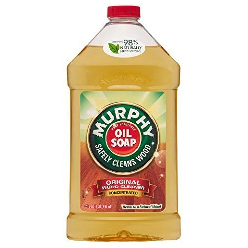Murphy Oil Soap Wood Cleaner, Concentrated Original, 946 ml / 32 Fl. Oz - 3 Packs