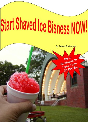 Deals on shaved ice business