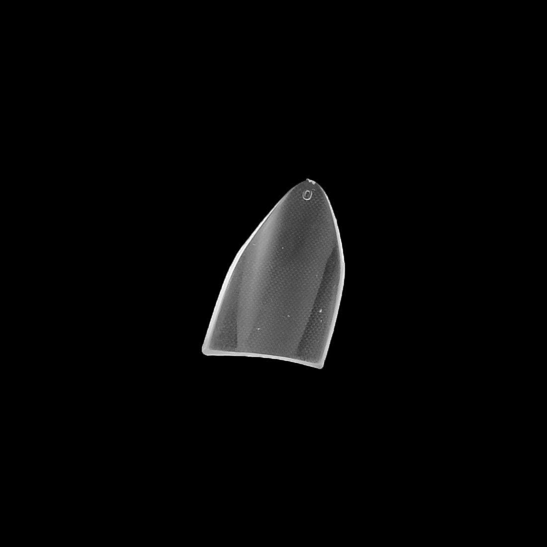 Amazon.com: eDealMax acrílico agudo Terminar Artificial del clavo falso Adhesivos Tips Uñas 500pcs Claro: Health & Personal Care