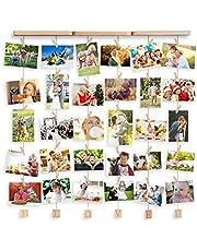 Uping Marco de Fotos de Pared, Marco de Fotos Multiple, Decoración del Hogar y Regalo
