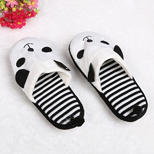 Toamen C Suaves hogar Panda Tama 40 Lovely para de 36 o el Zapatillas Rayas Cartoon rnqrwZ6Ap
