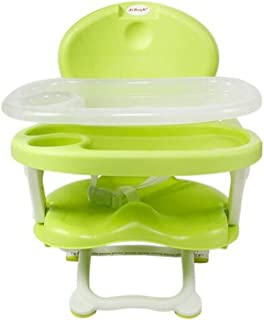 HJXJXJX Multi color 28*49cm Po Ma multifunctional portable folding baby chair , green