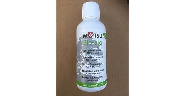 Árbol Bonsai Fertilizante - 250ml Matsu Bio-Alg fertilizante ...