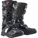 Fox Racing Comp 5 Youth Boys MX Motorcycle Boots - Black / Size 3