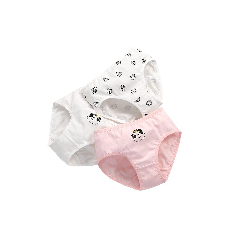 Minibalabala Kids Girls Baby Children Underwear Shorts Panties for Children's Clothing 3pcs (3T)