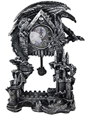 Dark Times Dragon Clock