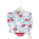Hudson Baby Unisex Swim Rashguard Set, Tropical