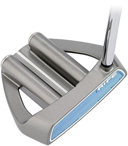 Rife Two Bar Hybrid Mallet Heel Shafted Putter Right Hand, 34-Inch
