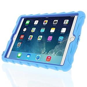 Apple iPad mini iPad mini Retina iPad mini 3 Hideaway with Stand Light Blue Gumdrop Cases Silicone Rugged Shock Absorbing Protective Dual Layer Cover Case