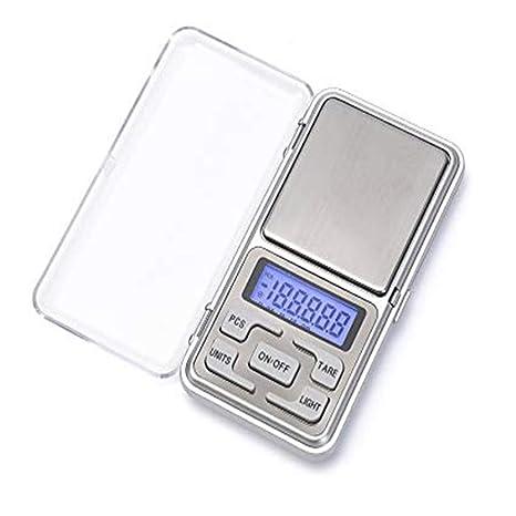 Báscula digital, 200 g/0.01g Báscula de precisión profesional/pesacartas/ Industrial