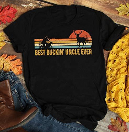Best Buckin' Uncle Ever T-Shirt Deer Hunting, Bucking Uncle, Uncle gift 2019 tee, uncle Deer Hunting Bucking, Best Buckin uncle tshirt