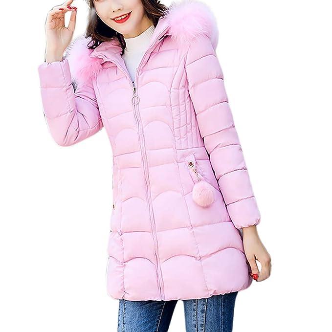 Abrigos de la Mujer, TWBB Mujer Invierno Casual Más Gruesa Abrigo Parkas Militar con Capucha Chaqueta de Acolchado Anorak Jacket Outwear Coats Promocion: ...