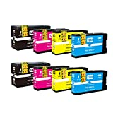 8 Pack ShopCartridges ® NON-OEM (K,C,M,Y) Replace for Canon PGI-1200XL PGI1200XL PGI-1200-XL PGI1200 1200 XL 1200XL 9183B001 New Compatible Pigment Ink Tank Cartridge For MAXIFY MB2020 MB2120 MB2320 MB2720