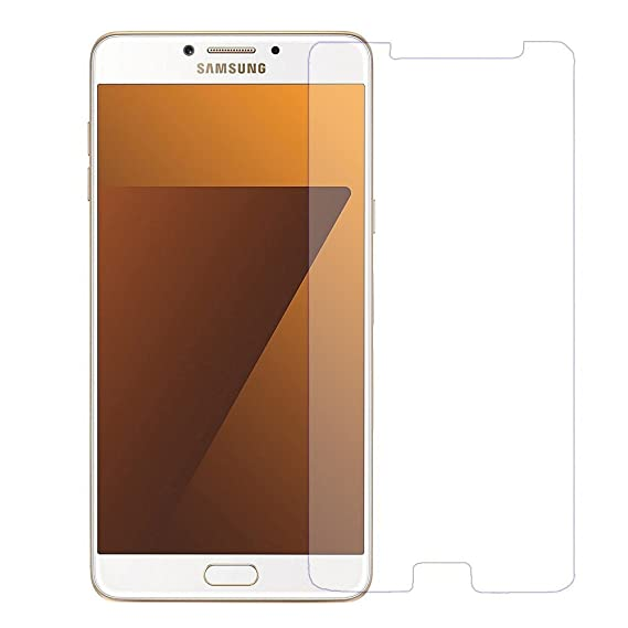 Snapps Mobile tempered glass screen guard for Samsung C7 Pro Screen guards