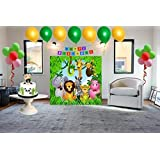 Disa's Jungle Theme Birthday Box ( 4 x 4 Feet)