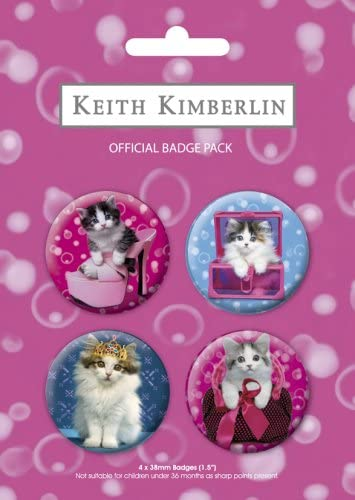 GB Eye BP0079 Keith Kimberlin - Placas (4 Unidades, diseño de Gatos): Amazon.es: Hogar