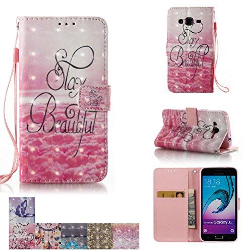 Cheap Fan Shop Galaxy J3 Case,Galaxy Amp Prime Case, Galaxy Express Prime Case, [Kickstand] Flip..