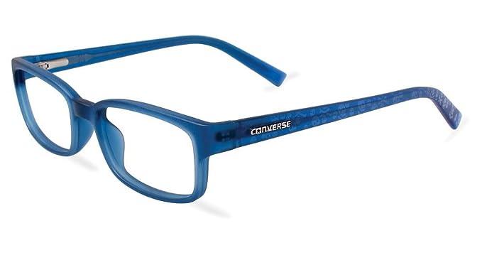ff82e4c808 Amazon.com  Eyeglasses Converse K018 Blue BLUE  Clothing