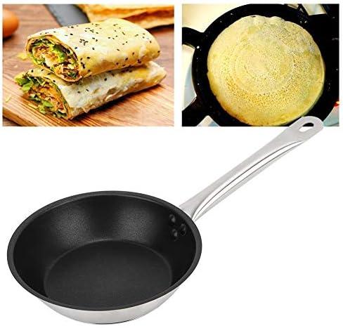 Belissy 220x50mm Non Stick Frying Pan Cuisine Cuisson à la Vapeur sans Couvercle for crêpes Fried Oeufs