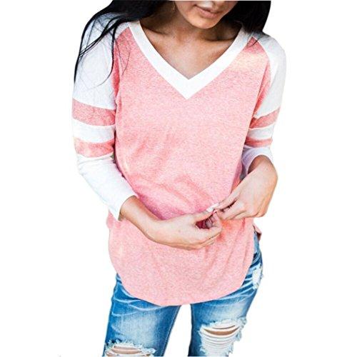 Canserin Hot Sale!Autumn Blouse, Women Pullover Autumn Long Sleeve T-Shirt Sweatshirts Blouse Tops Size US 4-10