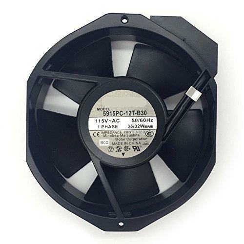 5915PC-12T-B30-A00 Fan 115V 50/60Hz 35/32W 150X172X38 3200RPM