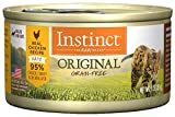Instinct Original Grain Free Real Chicken Recipe Natural Wet Canned Cat Food by Nature's Variety, 3 oz. Cans (Case of 24)