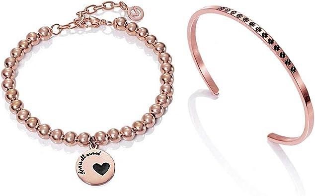 Pack Viceroy Fashion 90053K09019 Pulseras Acero: Amazon.es: Joyería