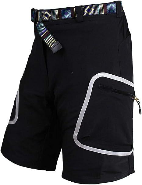 LXIANGP Pantalón Corto de Ciclismo para Hombres Pantalones Cortos ...
