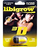 5 Pks - LIBGROW Platinum 10000 3D Male Enhancement Pills- 3D