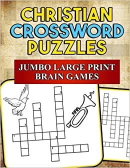 Amazon christian crossword puzzles jumbo large print brain amazon christian crossword puzzles jumbo large print brain games inspirational scripture and bible inspired crosswords bible activity books volume ccuart Choice Image
