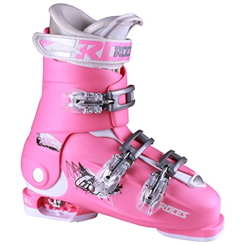 Roces Idea Free G Girls Ski Boots - 22-25/Deep Pink