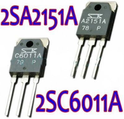5pairs 2SA2151A//2SC6011A A2151A//C6011A Transistor SANKEN TO-3P
