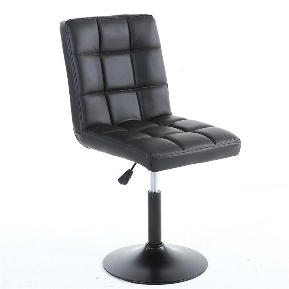 カウンターチェア座席の高いスツールバーキッチン朝食ダイニングチェアは、上下に上げることができます/スイベルチェアブラックBarstool (サイズ さいず : 40cm*40cm*63cm-83cm) B07DJ6MBPT 40cm*40cm*63cm-83cm 40cm*40cm*63cm-83cm