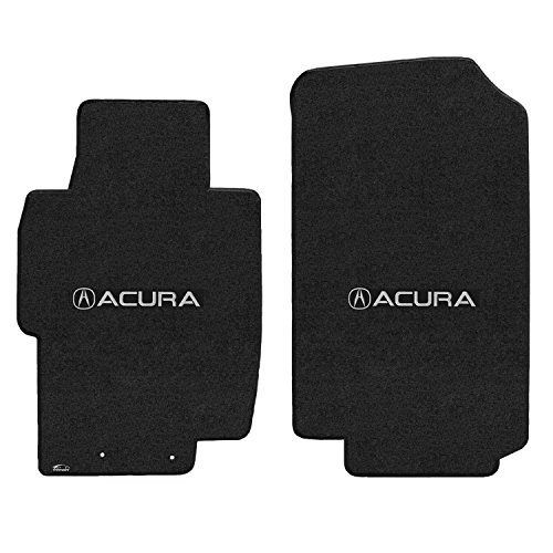 Lloyd Mats � VELOURTEX Floor Mats for TSX 2004-2008 2Pc Mats EBONY VELOURTEX ACURA with A LOGO Acura Tsx Floor Mats