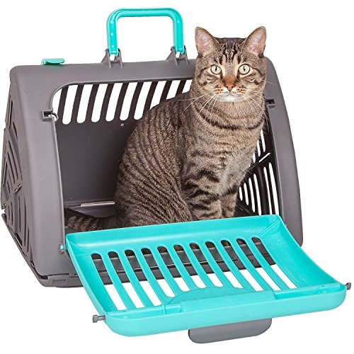 Sporer@Master Crate Foldinng Pet Carriers Using new resin PP materials (Blue)