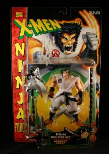 NINJA WOLVERINE w/ Assault Gear X-MEN NINJA FORCE Action ...